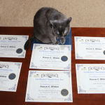 BlogPaws and Cat Writers' Association Honors Leaves Me Speechless (almost)
