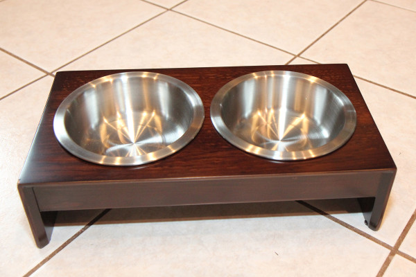 Petfusion elevated bowl holder