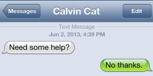 Text from cat: Cat-alog of Puns