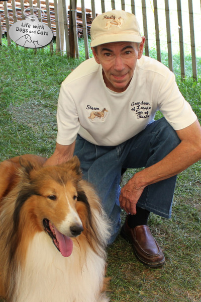 Somerset County 4H Fair: Carl Maier and Red Cross therapy dog Storm, who is a direct descendant of the dog who played Lassie