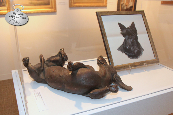 The Dog Show exhibit at the Morris Museum: A Good Life by Joy Kreoger Beckner