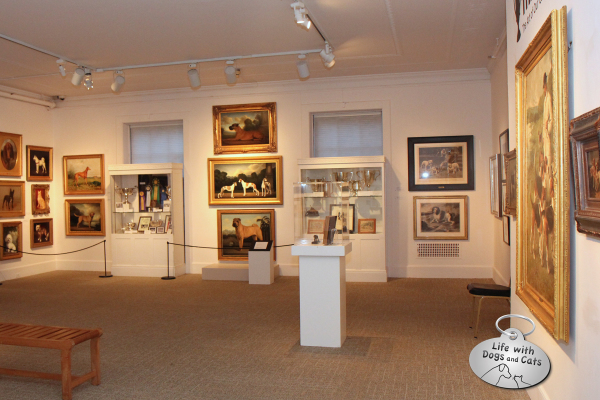 The Dog Show exhibit at the Morris Museum