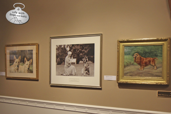 The Dog Show exhibit at the Morris Museum: Geraldine R. Dodge photos and paintings