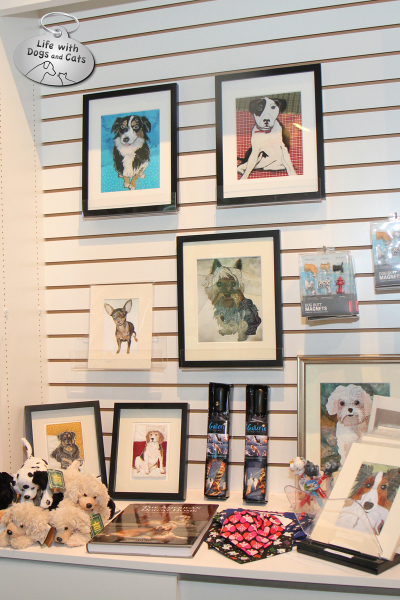 The Dog Show exhibit at the Morris Museum: Gift Shop