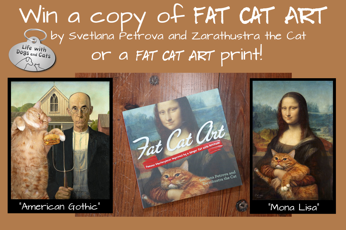 Enter to win a copy of Fat Cat Art or a print.