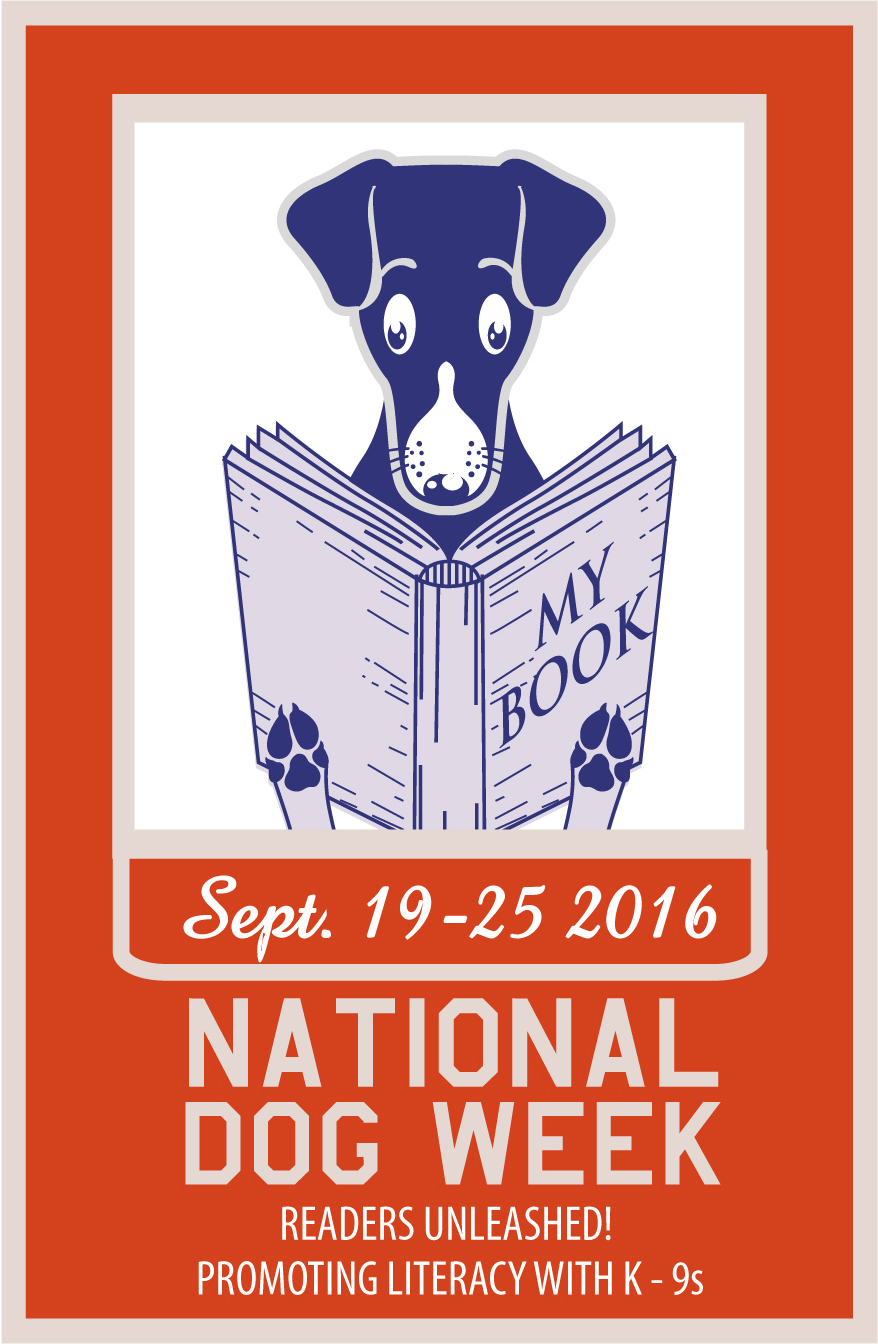 National Dog Week 2016 Promoting Literacy