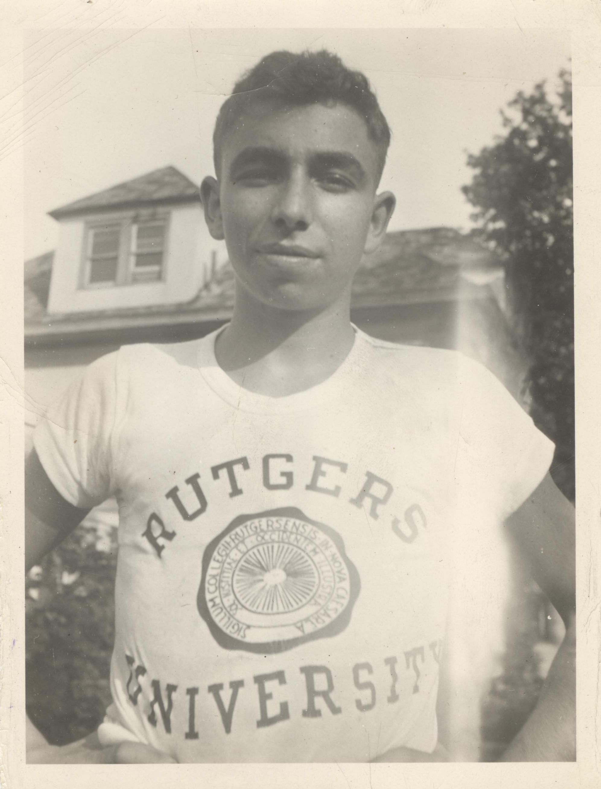 Norman Rutgers young