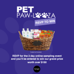 Get Free Product Samples for Your Pets During Pet Paw-Looza #PPL