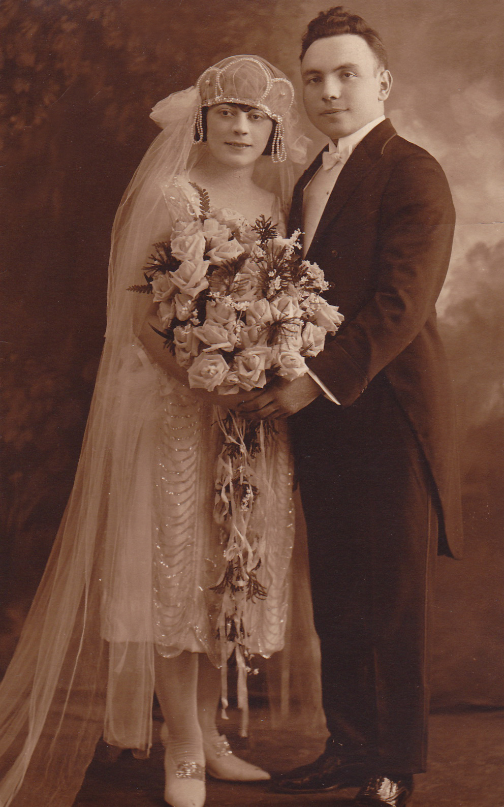 My grandparents, Rose and Max Efros