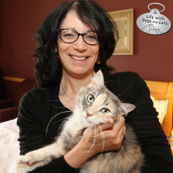 Susan C. Willett and Sophie from Kitty Cat Chronicales