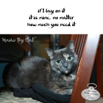 Haiku by Cat: Mine