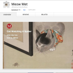 Tabs or Tab-bies: Meow Met app is where cats, art and technology meet