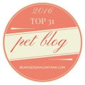 Lifew with Dogs and Cats was chosen as one of the top 31 pet blogs